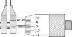 micrômetro interno - imicro