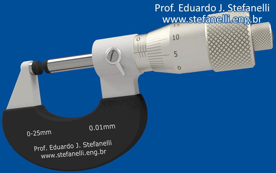 Micrômetro - Micrometer - Micrómetro