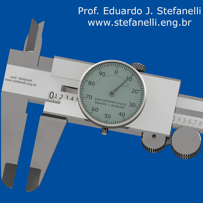 Paquimetro com Relógio - Dial Caliper - Calibre Reloj