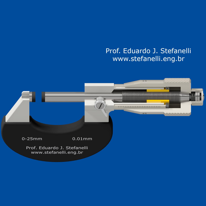 Micrômetro - Micrometer - Micrómetro - Corte