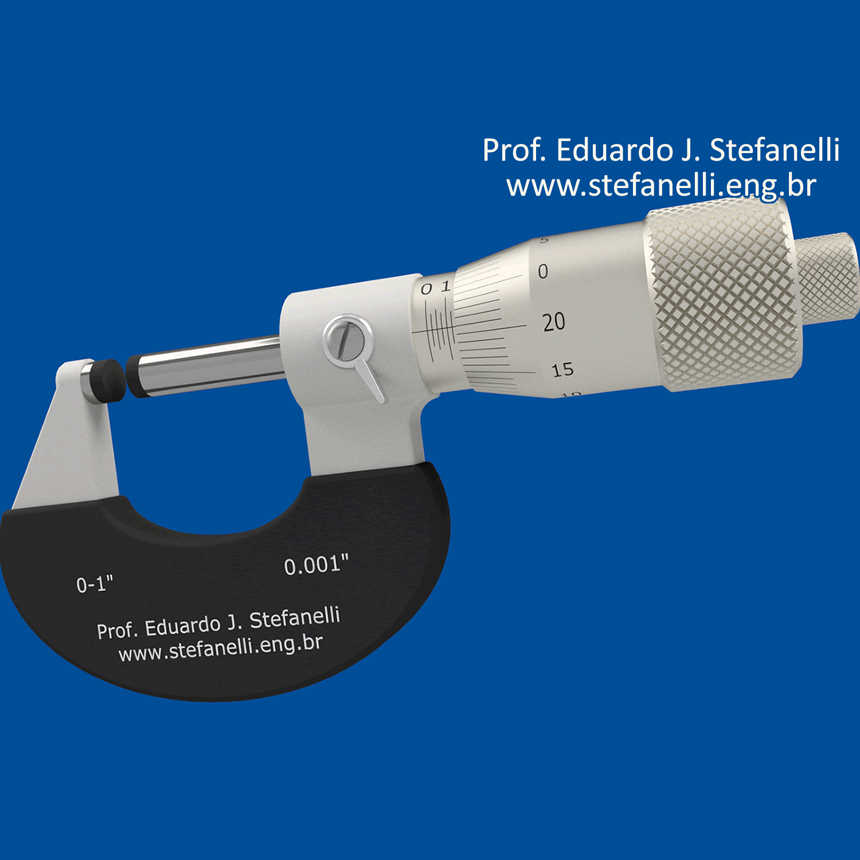 Micrômetro - Micrometer - Micrómetro - Polegada - Inch - Pulgada