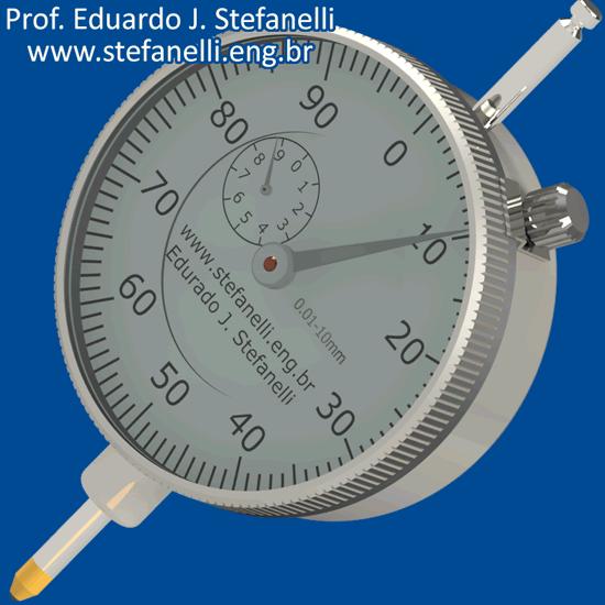 Relógio comparador - Dial Indicator - Reloj Comparador