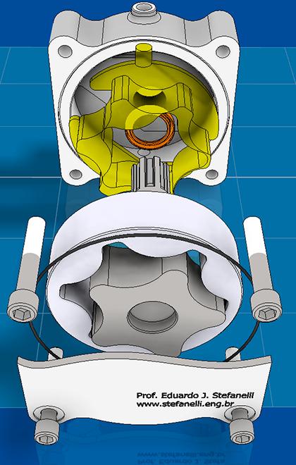 Bomba de Óleo Rotor