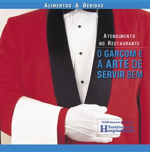 Capa do CD-ROM: Atendimento no Restaurante