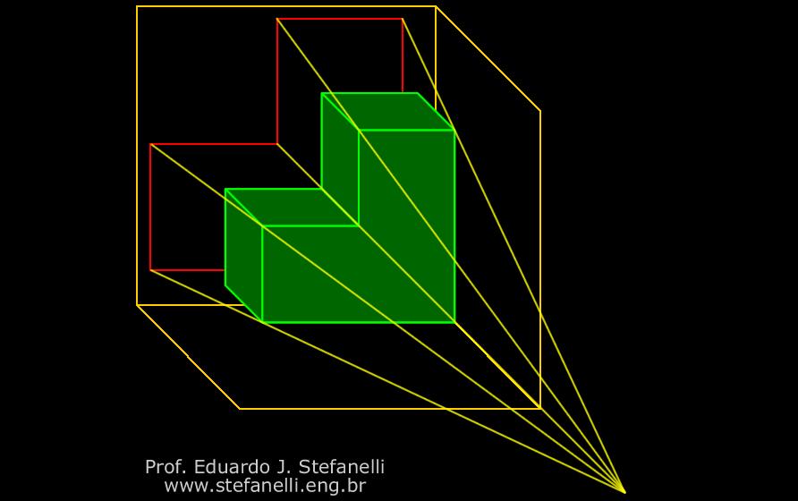 Projecões Ortogonais - Representções Ortográficas - Orthographic Projection - Proyecciones Ortogonales