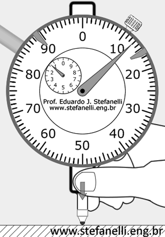 Relógio comparador; Dial Indicator; Reloj comparador
