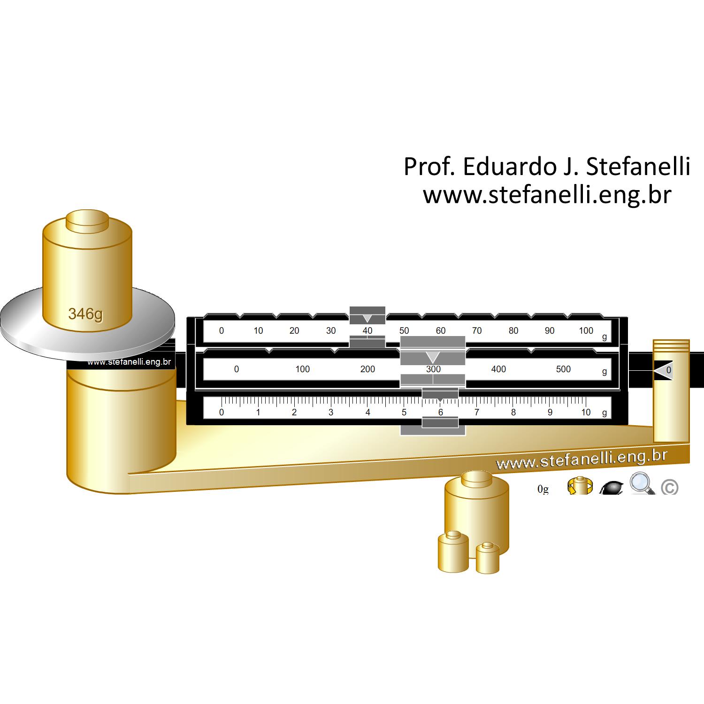 Balança Tríplice Escala - Triple Beam Balance - Balanza Mecanica Triple Brazo